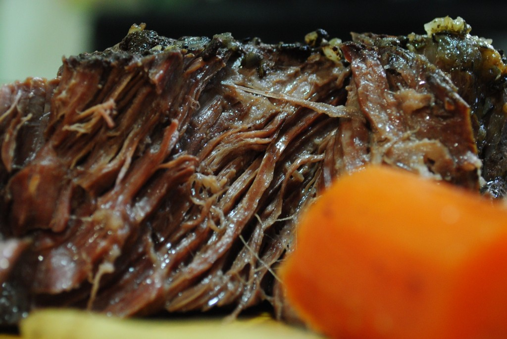 paleo primal crock pot pot roast recipe | I Eat Mostly Meat
