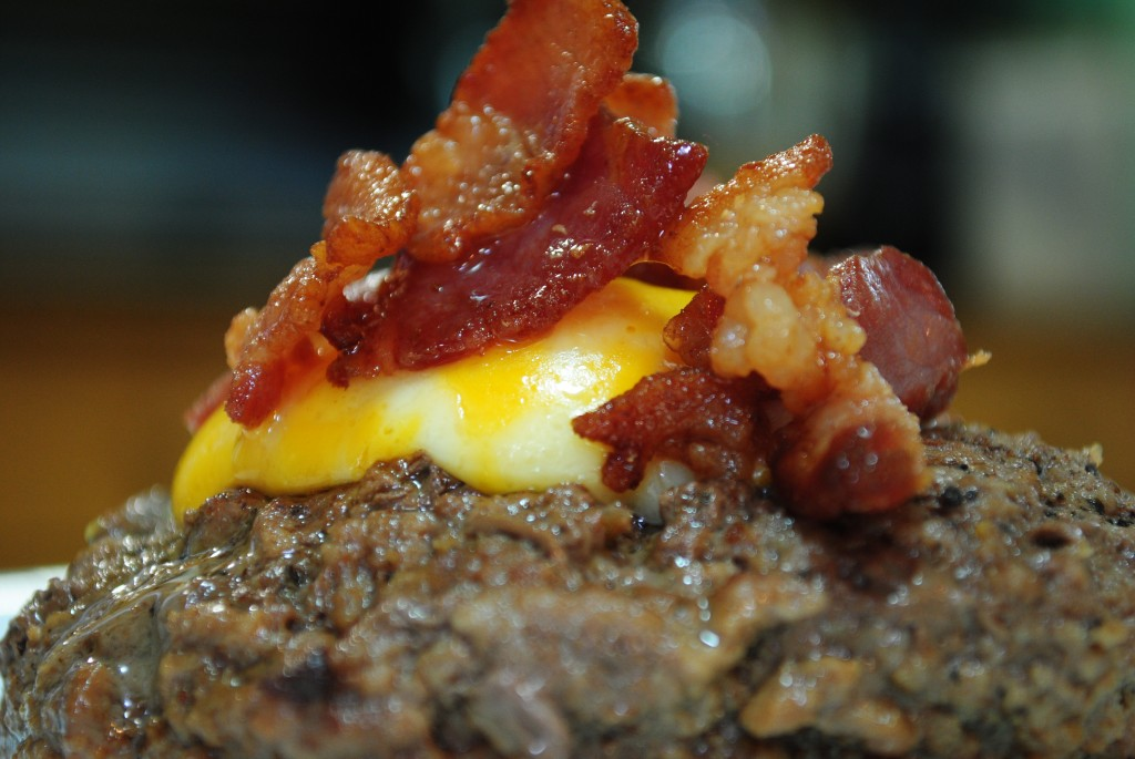 paleo bacon cheese burger