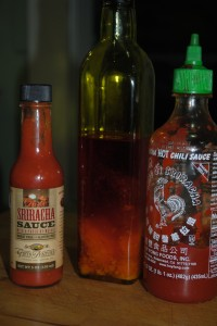 palm oil and chili sauce