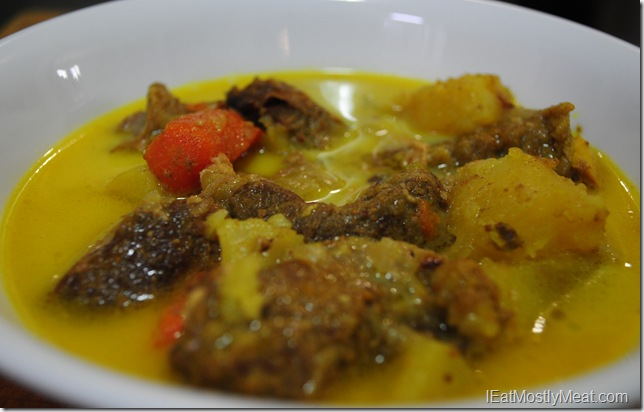 photo coconut lamb curry