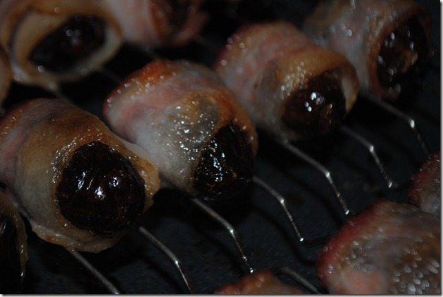 image of bacon wrapped dates